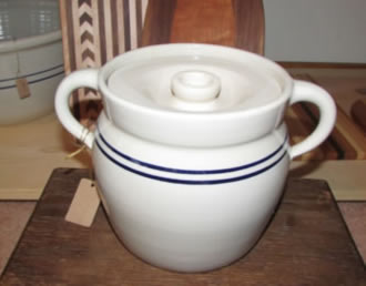 Pottery Bean Pot