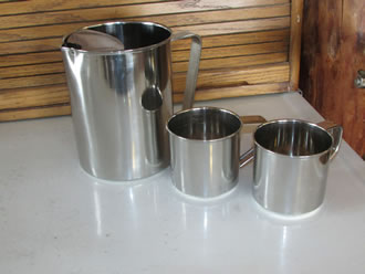 Stainless 2 Quart Pitcher