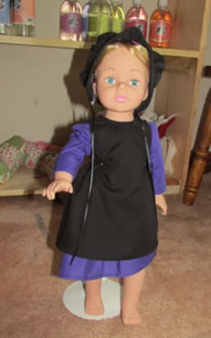 "18"" Amish Doll Outfits"